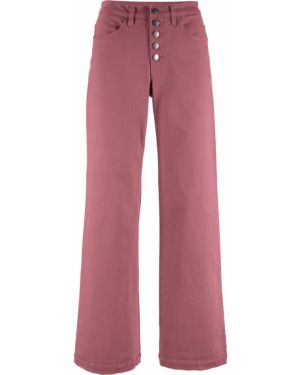 Широкие джинсы стрейч Bonprix