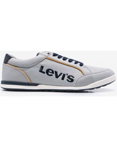 Серые льняные кроссовки Levi's®