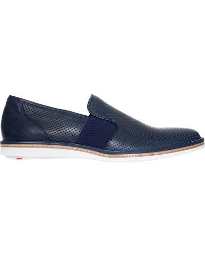 Синие туфли с перфорацией Lloyd
