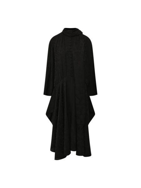 Платье с цветочным принтом шелковое Chloé