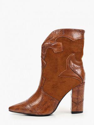Коричневые зимние полуботинки Ideal Shoes®