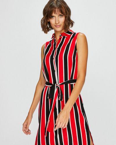 Платье мини прямое с узором Answear