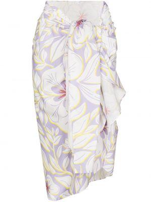 Biała spódnica bawełniana Racil