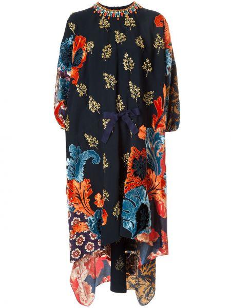 Платье мини миди с цветочным принтом Biyan