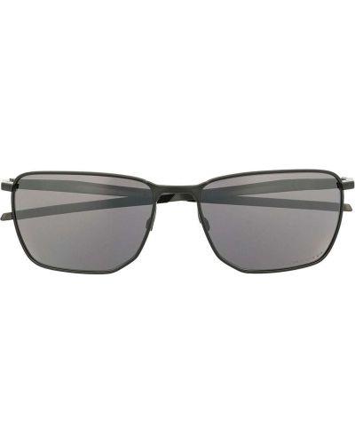 Солнцезащитные очки металлические - черные Oakley