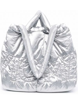Косметичка серебристая - серебряная Vic Matie