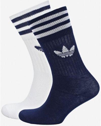 Колготки белые синий Adidas Originals