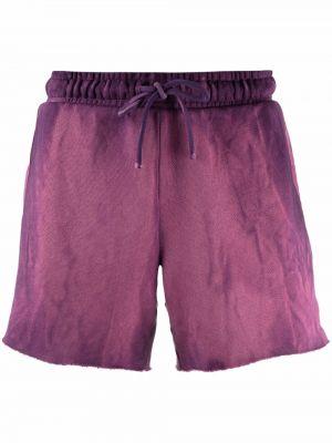 Шорты с карманами - фиолетовые Cotton Citizen
