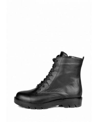 Черные высокие ботинки Pandora
