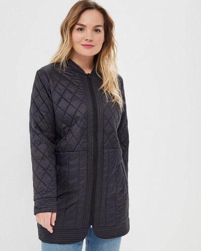 Черная утепленная куртка Zizzi