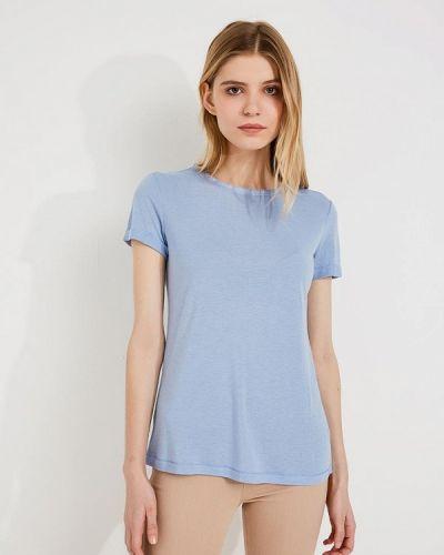 Голубая футболка Patrizia Pepe