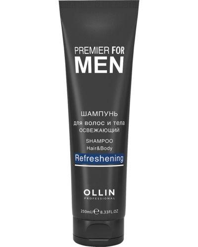 Кожаный мягкий шампунь Ollin Professional