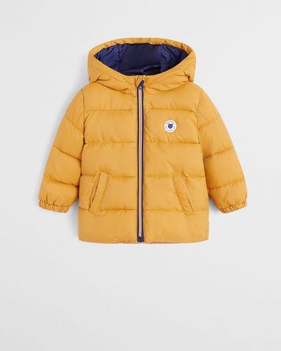 Желтая куртка Mango Kids