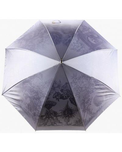 Зонт-трость - серый Fabretti