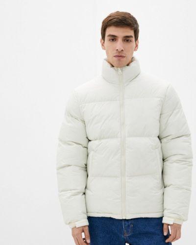 Белая утепленная куртка Befree