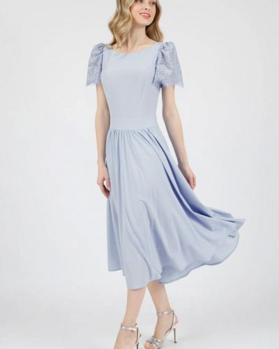 Вечернее платье - голубое Marichuell