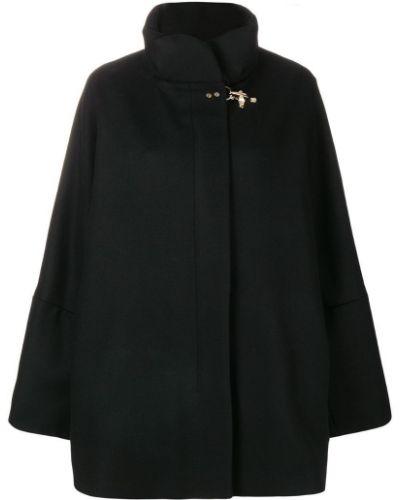 Пальто классическое на молнии шерстяное Fay