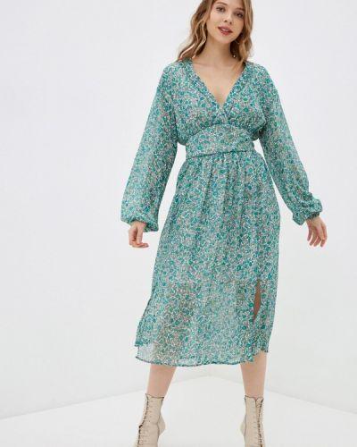 Джинсовое платье - зеленое Pepe Jeans