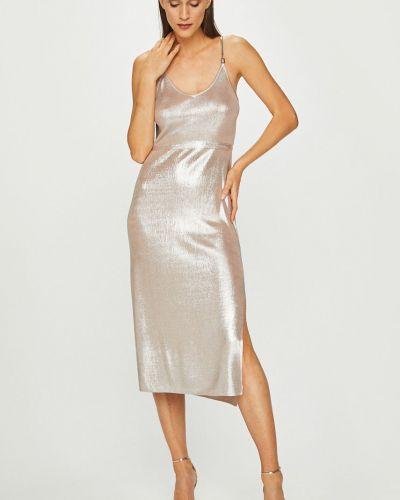 Платье миди с V-образным вырезом на бретелях Diesel