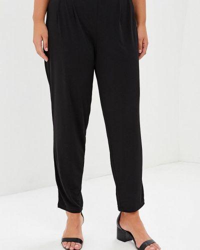 Черные брюки зауженные Evans