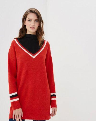 Пуловер красный By Swan