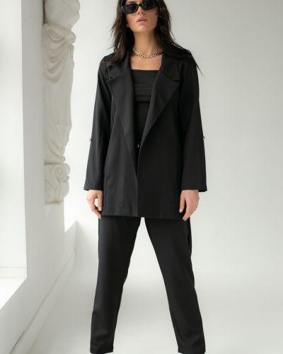 Черный костюм без застежки Clew