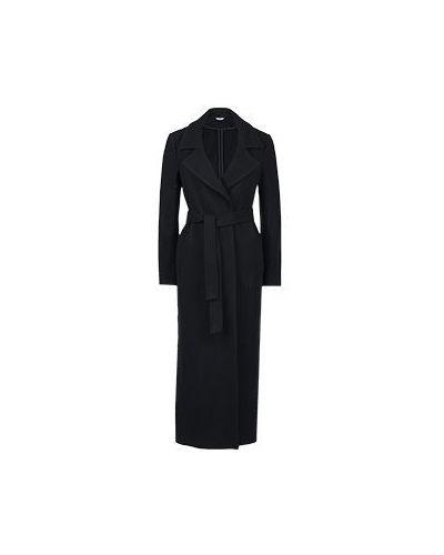Черное пальто Liu Jo