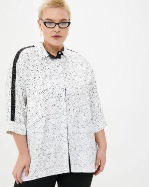 Блузка с длинным рукавом белая весенний Intikoma