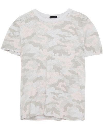 Różowa t-shirt bawełniana Atm Anthony Thomas Melillo