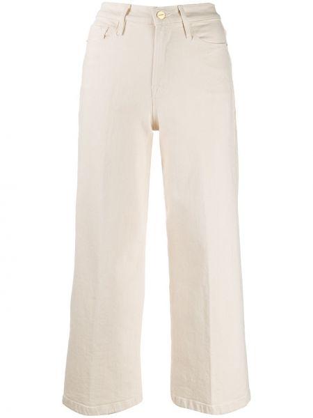 Широкие джинсы стрейч укороченные Frame