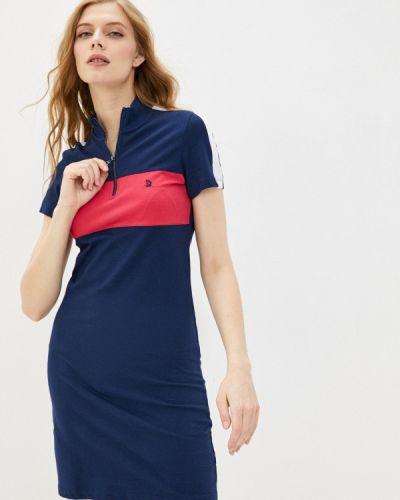 Платье - синее Giorgio Di Mare