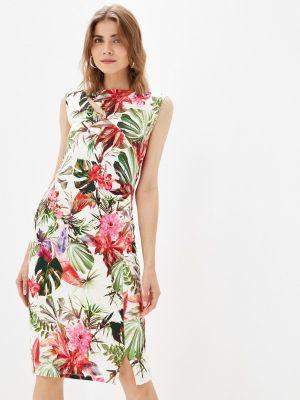 Платье футляр - белое Passioni