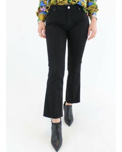 Czarne mom jeans Haikure