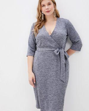 Платье с запахом осеннее Milanika