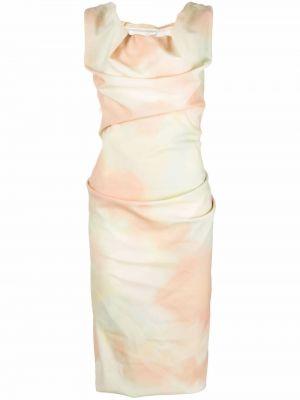 Шерстяное платье - желтое Vivienne Westwood