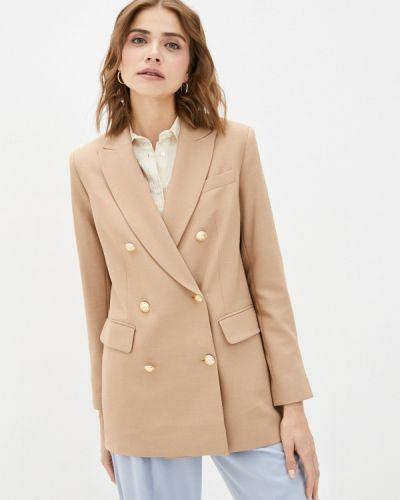 Бежевый пиджак Lusio