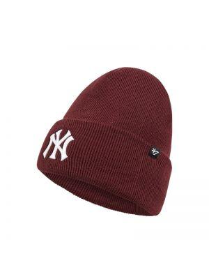 Miękki czapka baseballowa z paskami '47