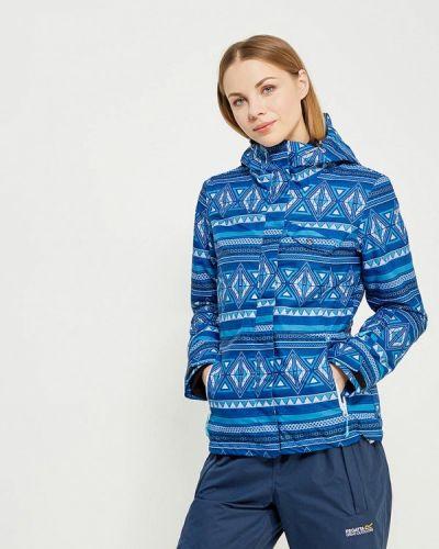Синяя горнолыжная куртка Icepeak