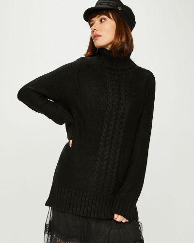 Вязаный свитер шерстяной с узором Answear