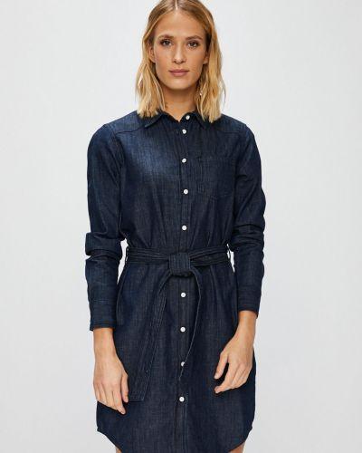 Джинсовое платье мини с карманами Jacqueline De Yong