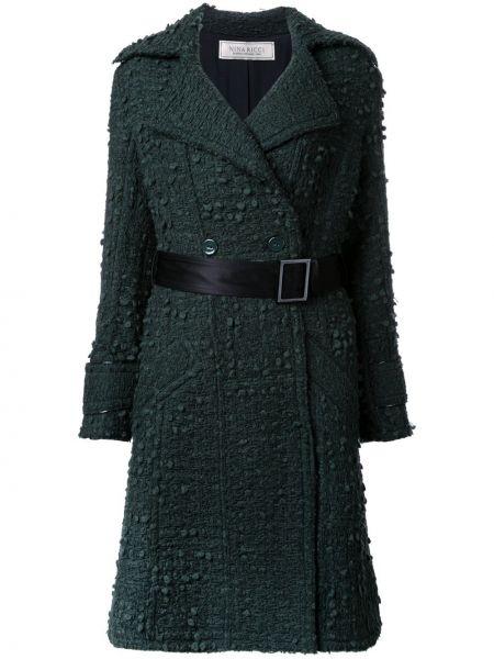 Пальто зеленое пальто Nina Ricci