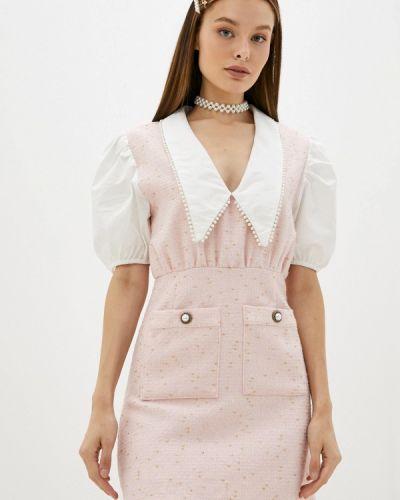 Розовое платье осеннее Sister Jane