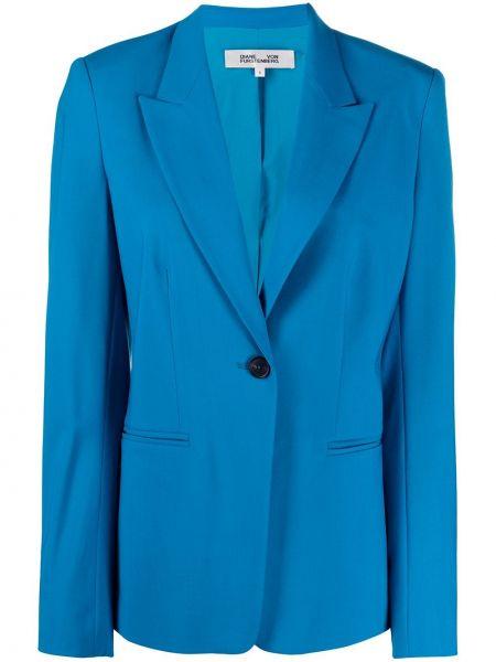 Пиджак с накладными карманами шерстяной Diane Von Furstenberg