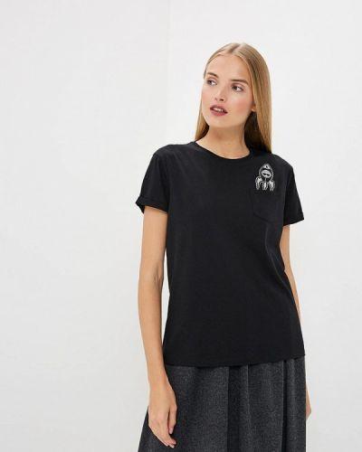 Черная футболка Karl Lagerfeld