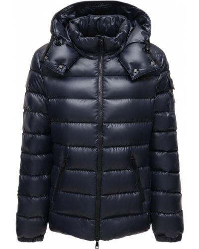 Нейлоновая куртка с капюшоном на молнии Moncler
