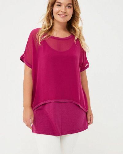 Розовая блузка осенняя Svesta