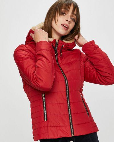 Стеганая куртка утепленная с капюшоном Only