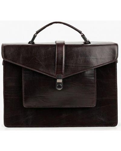 Кожаная сумка коричневый Alexander Tsiselsky