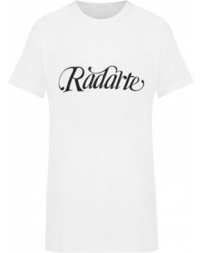 Футболка с рисунком с надписями с логотипом Rodarte