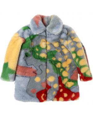 Płaszcz z kieszeniami z nadrukiem Stella Mccartney Kids
